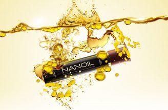olejek Nanoil do włosów o różnej budowie