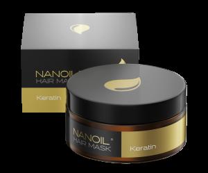 Nanoil Keratin Hair Mask – najlepsze serum-maska do włosów zniszczonych